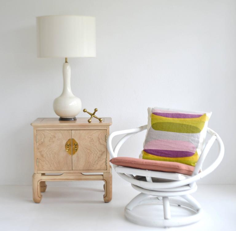 Mid century blanc de chine ceramic table lamp for sale at for Table de chine