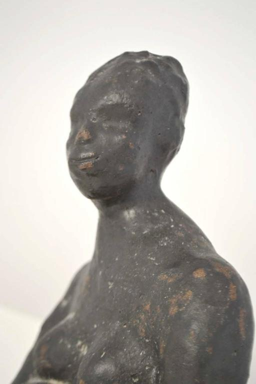Midcentury Hand Thrown Sculpture In Good Condition For Sale In West Palm Beach, FL