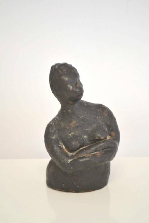Mid-Century Modern Midcentury Hand Thrown Sculpture For Sale