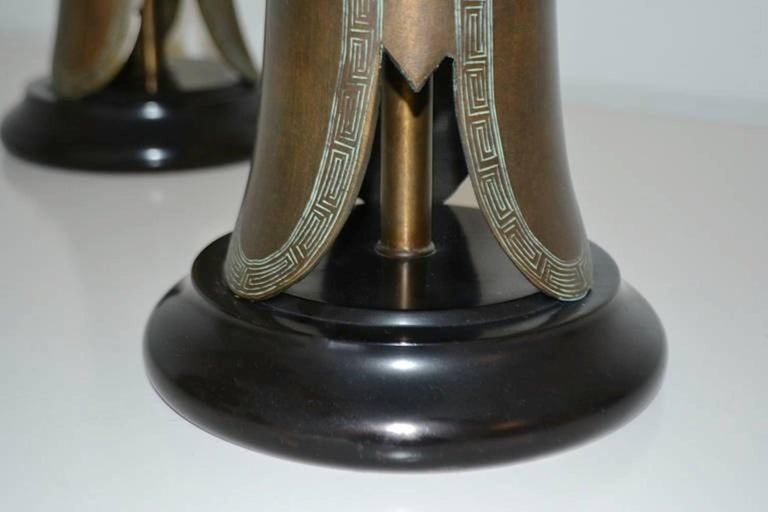 Mid-20th Century Pair of Mid-Century Table Lamps For Sale