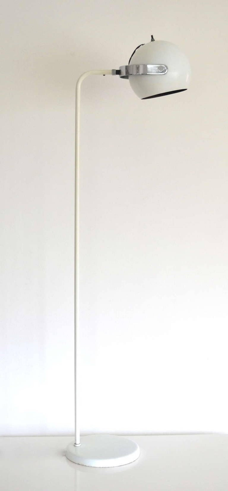 American Midcentury Floor Lamp by Robert Sonneman For Sale