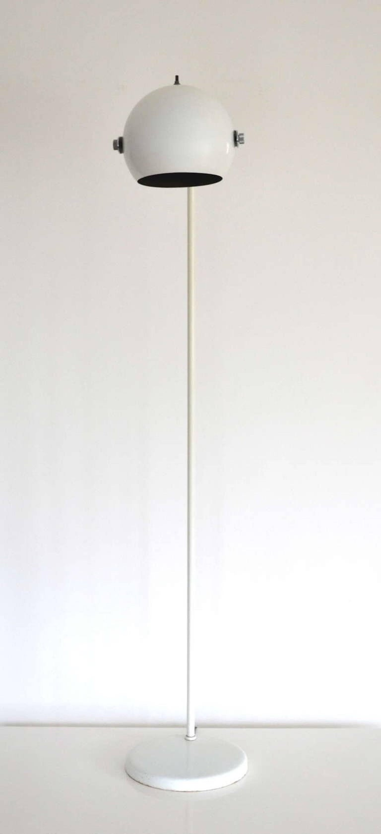 Midcentury Floor Lamp by Robert Sonneman In Excellent Condition For Sale In West Palm Beach, FL