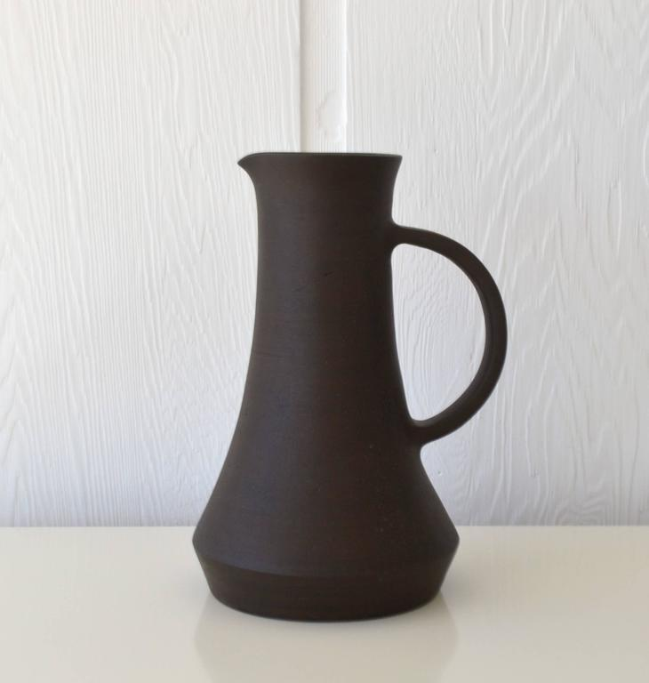 Hand Thrown Ceramic Pitcher At 1stdibs