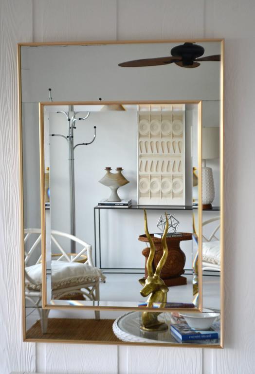 Hollywood Regency Mirror-Framed Wall Mirror For Sale 2