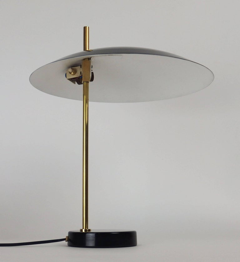 "Enameled ""1013"" Table Lamp by Disderot For Sale"