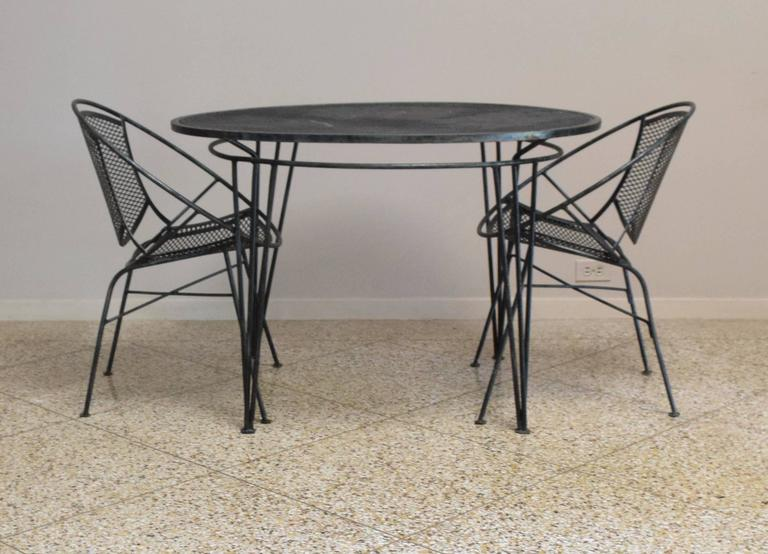 Salterini Radar Patio Set At 1stdibs
