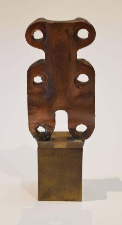 Abstract Bronze Sculpture by Herbert Kallem 3
