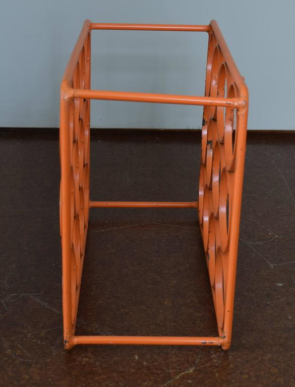 Arthur Umanoff Wine Rack In Excellent Condition For Sale In Princeton, NJ
