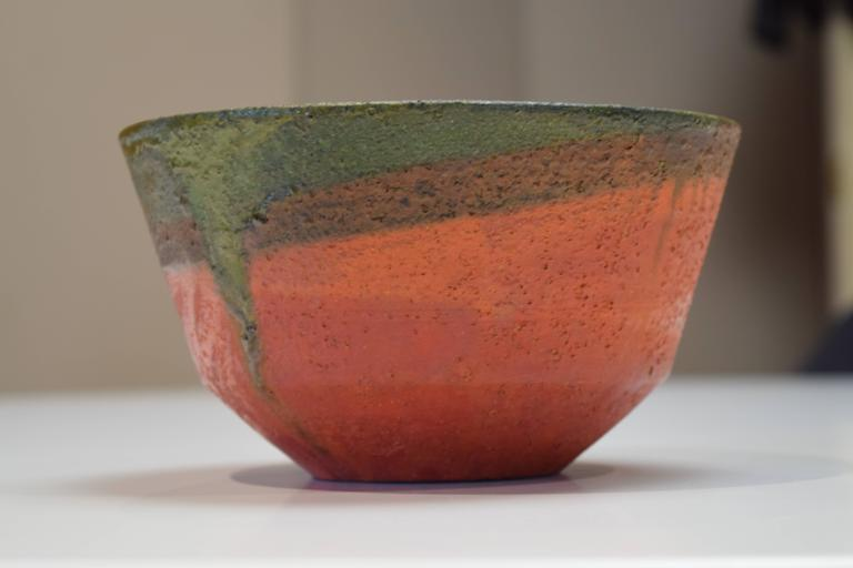Glazed Luscious Bowl by Marcello Fantoni For Sale
