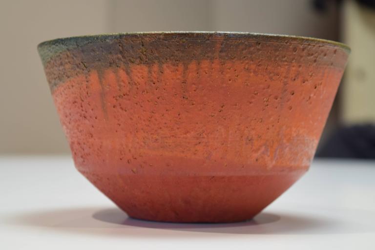 Italian Luscious Bowl by Marcello Fantoni For Sale