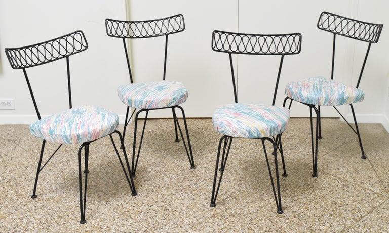 Mid-Century Modern Salterini Bistro Chairs For Sale