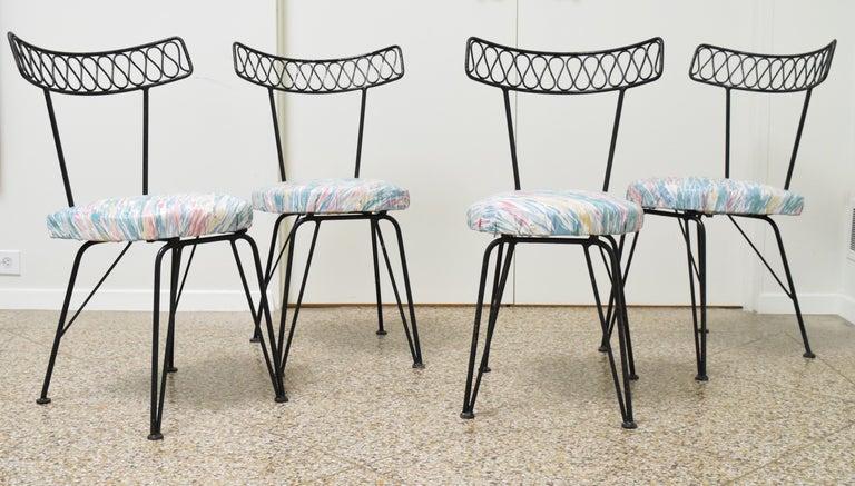 American Salterini Bistro Chairs For Sale