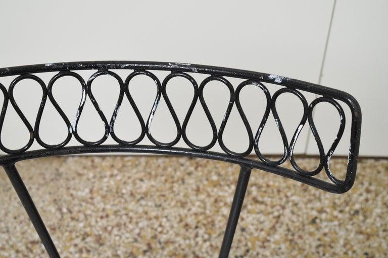 Salterini Bistro Chairs For Sale 5