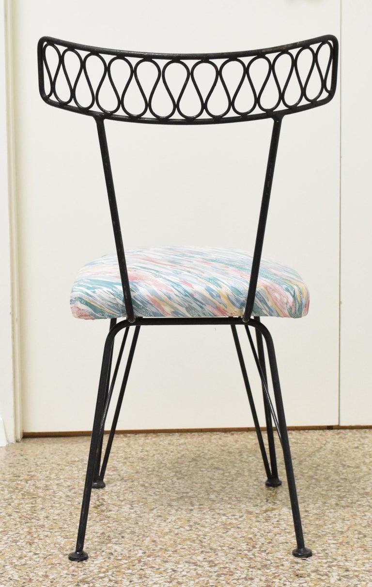 Salterini Bistro Chairs For Sale 2