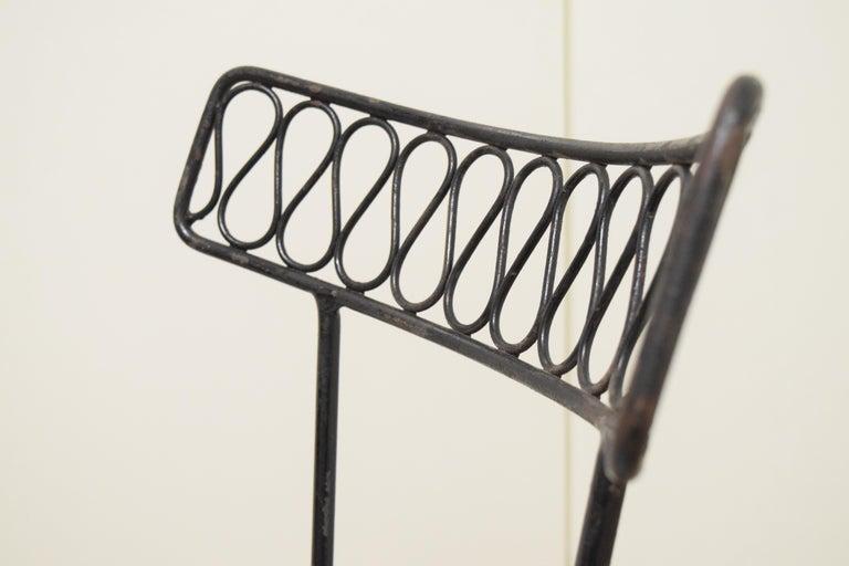 Salterini Bistro Chairs For Sale 6