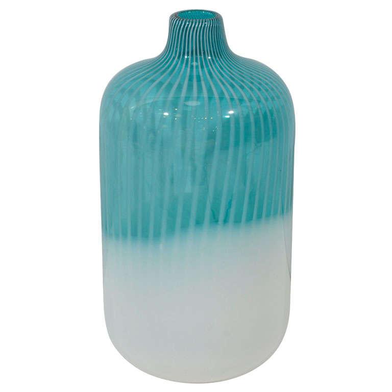 Vintage Murano Bottle Vase