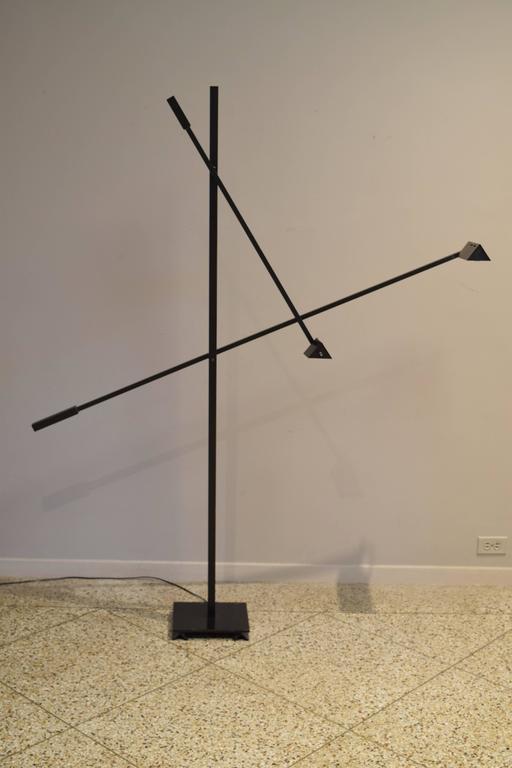 Articulated Floor Lamp In The Style Of Robert Sonneman For