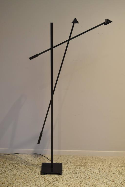 Articulated Floor Lamp In The Style Of Robert Sonneman For Sale At 1stdibs