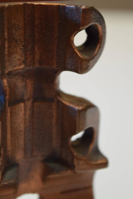 American Abstract Bronze Sculpture by Herbert Kallem For Sale