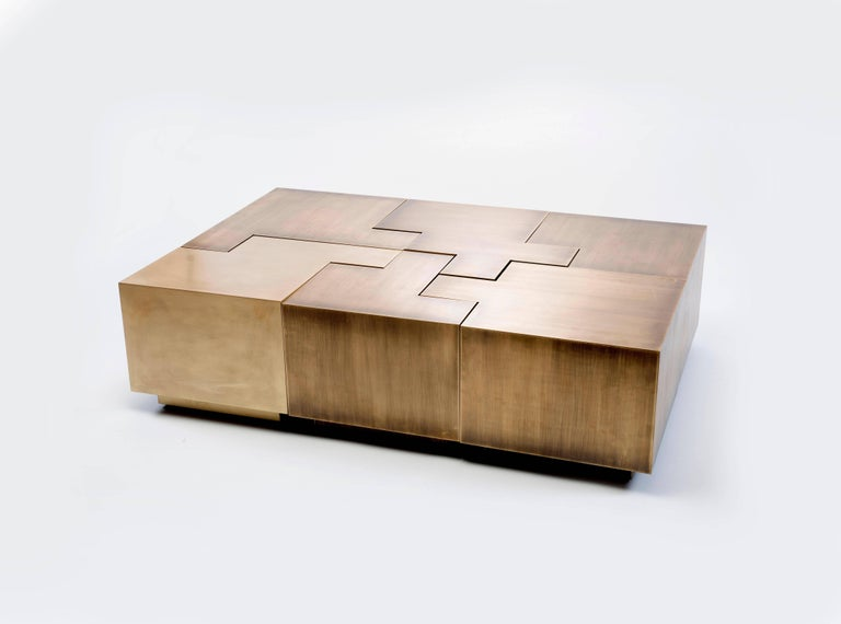 Contemporary Puzzle Coffee Table By Gulla Johnsdottir For Sale At 1stdibs