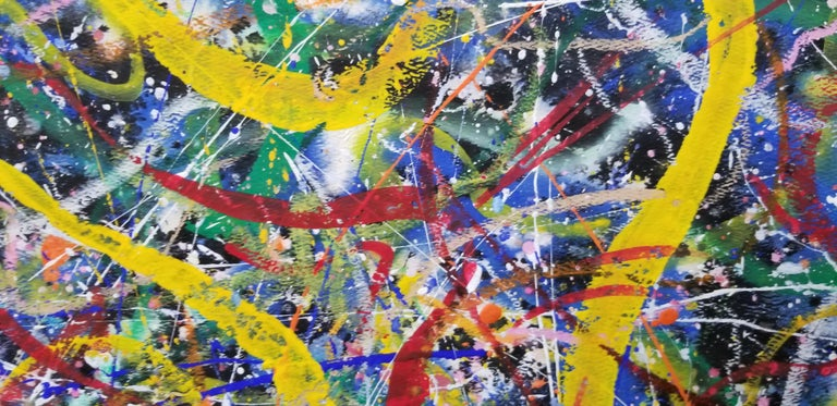 American Hendrik Grise Abstract Expressionist Pattern Painting For Sale