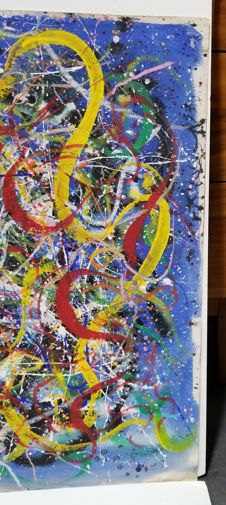 Hendrik Grise Abstract Expressionist Pattern Painting For Sale 2