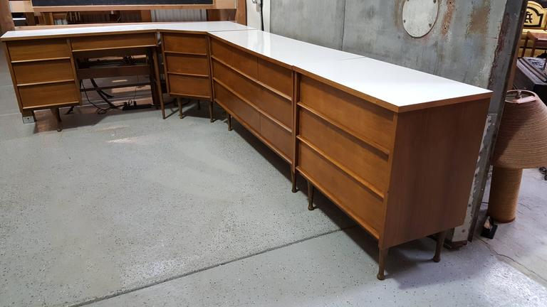 Four Piece Module Work Place Bedroom Suite For Sale At 1stdibs