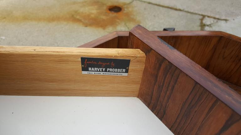 Harvey Probber Dry Bar or End Table in Rosewood 3