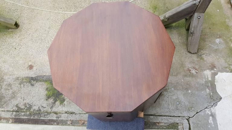 Harvey Probber Dry Bar or End Table in Rosewood 4