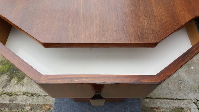 Harvey Probber Dry Bar or End Table in Rosewood 5