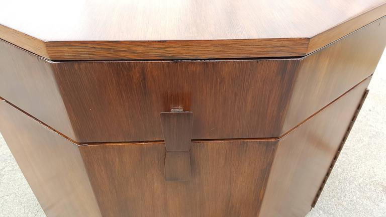 Harvey Probber Dry Bar or End Table in Rosewood 6