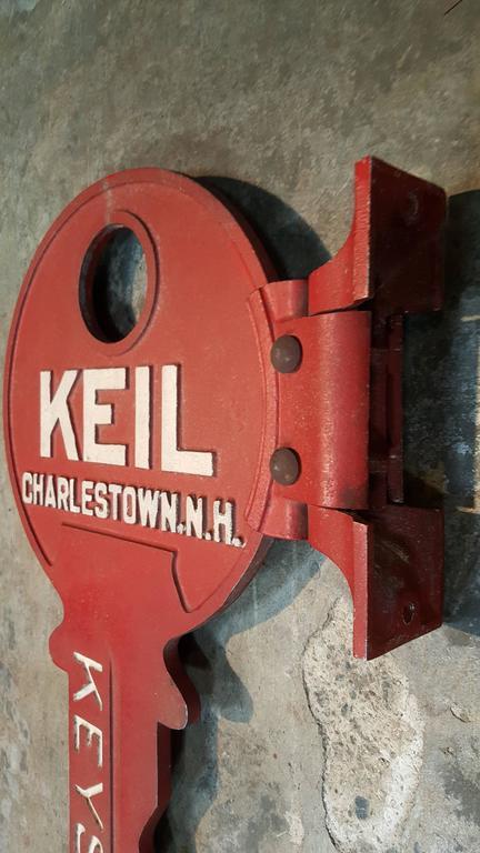 Key Form Cast Aluminum Locksmith Trade Sign At 1stdibs
