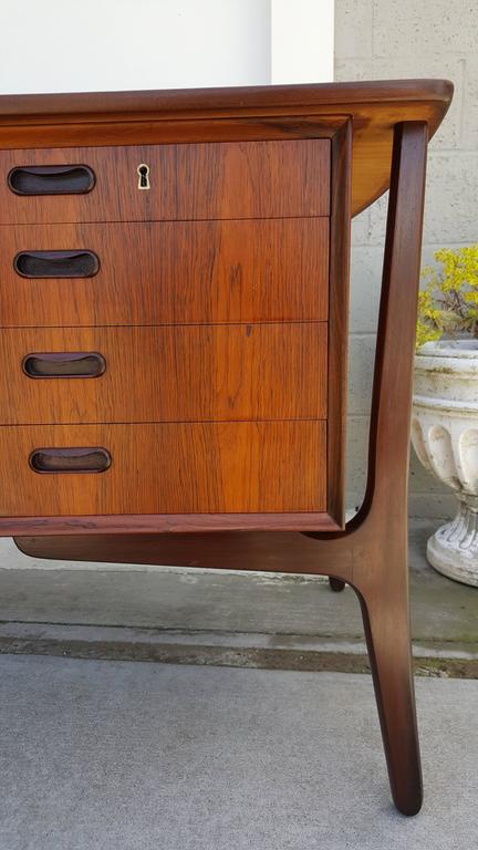 Danish Modern Rosewood Desk by Svend Madsen 3
