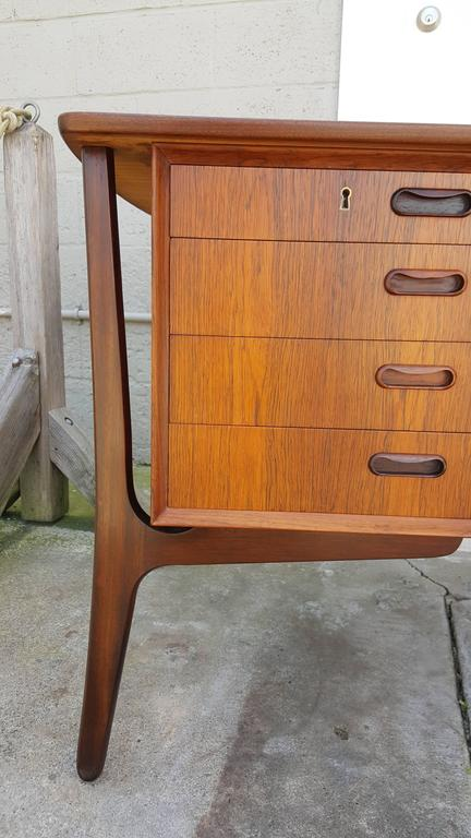 Rosewood Desk by Svend Madsen In Excellent Condition For Sale In Fulton, CA