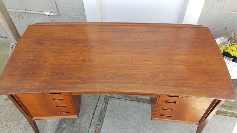 Danish Modern Rosewood Desk by Svend Madsen 4