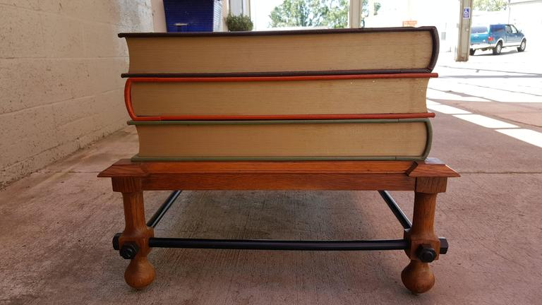 American John Dickinson Stacked Books End Table For Sale