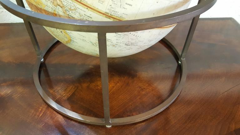 Mid-Century Modern Desk Top Globe in the Style of Paul McCobb For Sale
