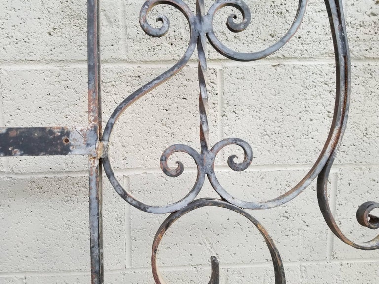 Architectural Wrought Iron Panels, Pieces For Sale 1