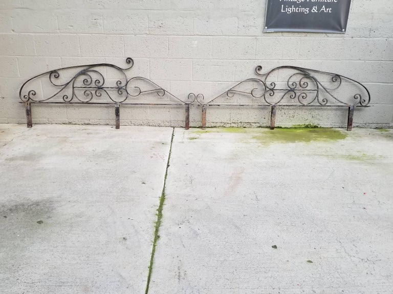 Architectural Wrought Iron Panels, Pieces For Sale 4