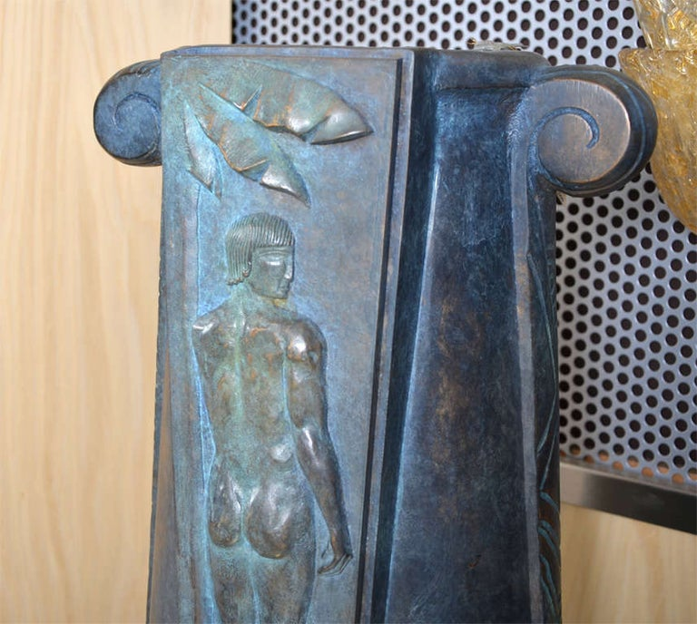 Huge and Fantastic Art Deco Lamps For Sale 1