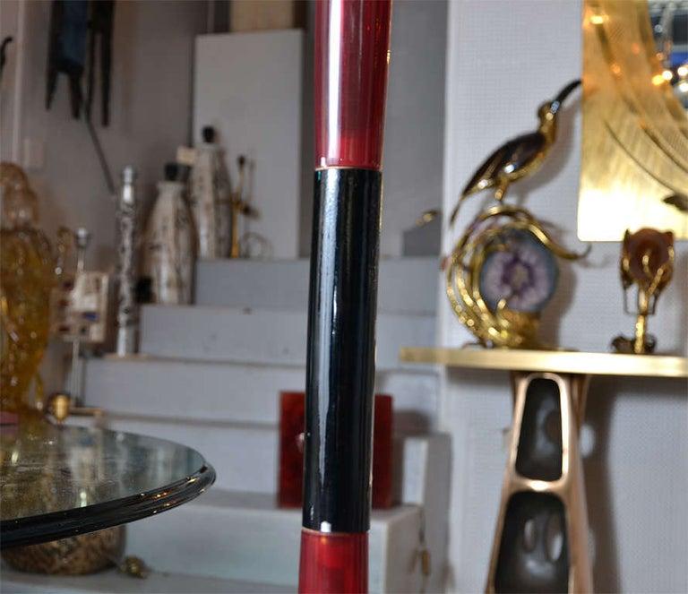 Mid-20th Century Fantastic Murano Glass Floor Lamp by Venini For Sale