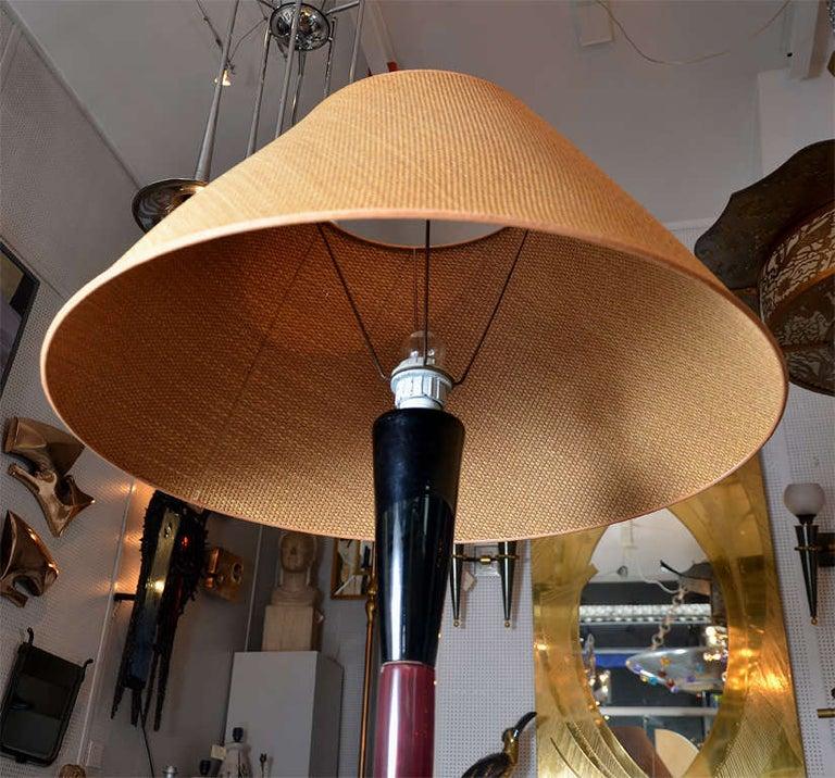 Fantastic Murano Glass Floor Lamp by Venini For Sale 1