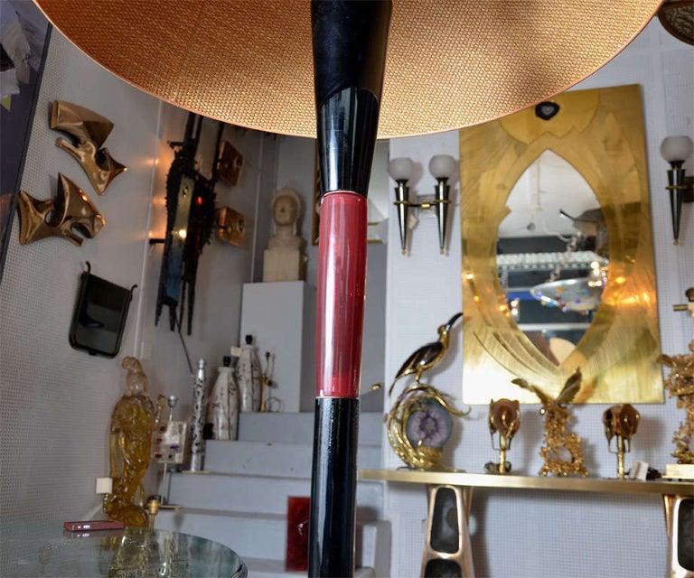 Fantastic Murano Glass Floor Lamp by Venini For Sale 2