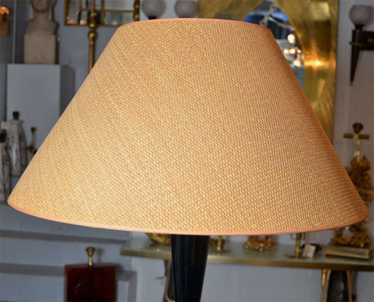 Fantastic Murano Glass Floor Lamp by Venini For Sale 3