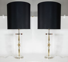 Pair of Lamps in the Style of Karl Springer