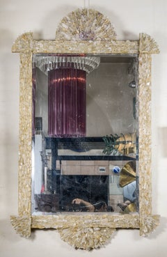 One-of-a-Kind Rock Crystal Mirror by Enzo Missoni