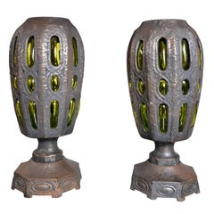 Awesome Pair of Lamps Attributed to Robert Phandeve