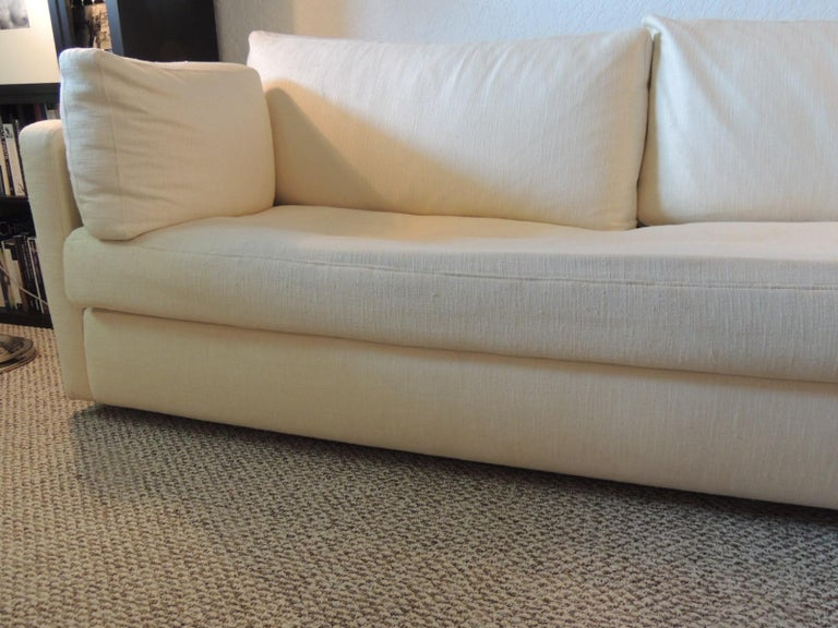 Hand Crafted Vintage Billy Baldwin Style Tuxedo Sofa For