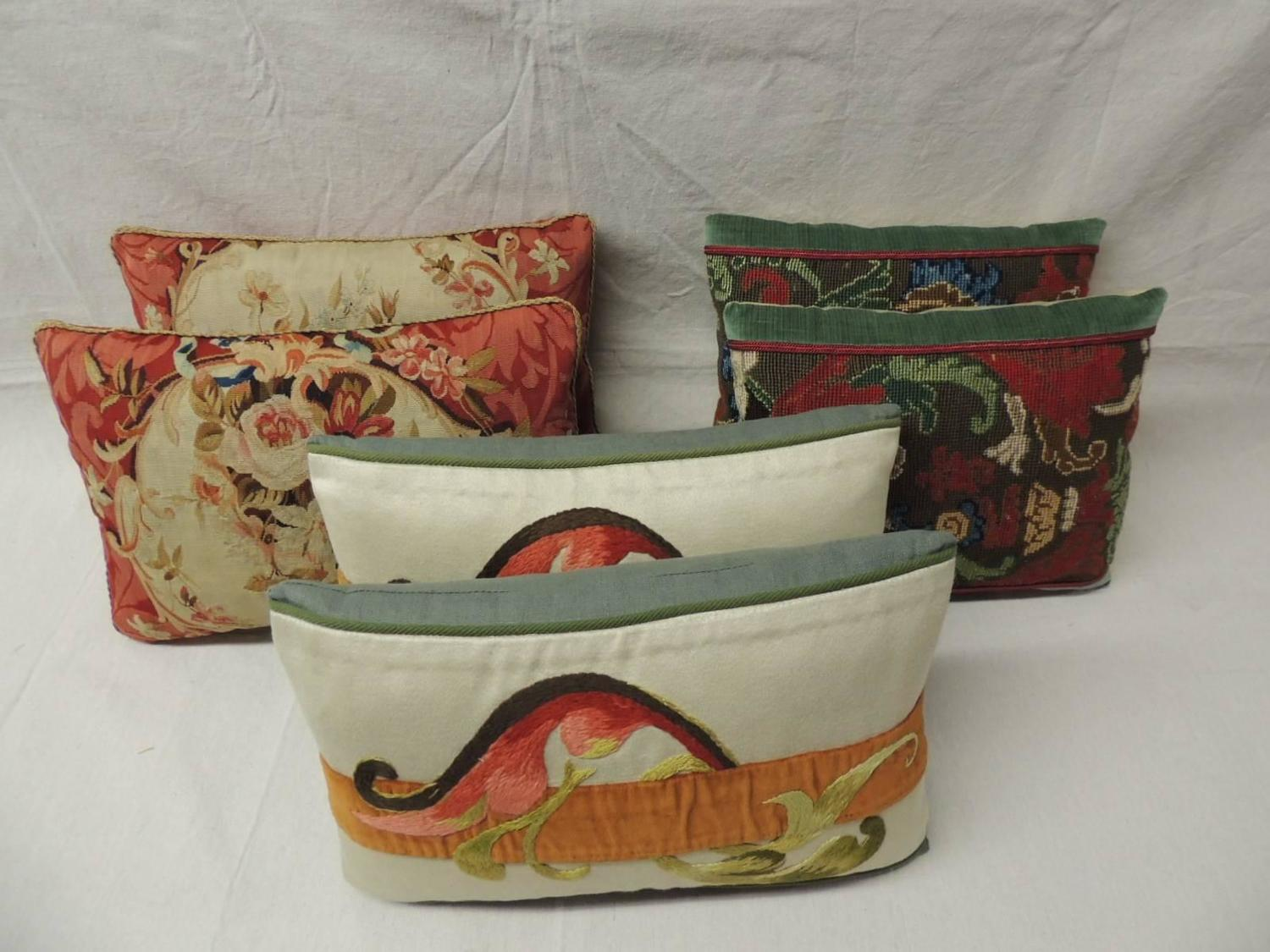 decorative lumbar tapestry pillows at 1stdibs