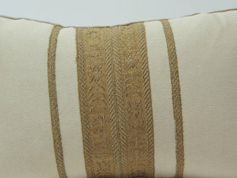 antique textile cashmere decorative lumbar pillow for sale at 1stdibs